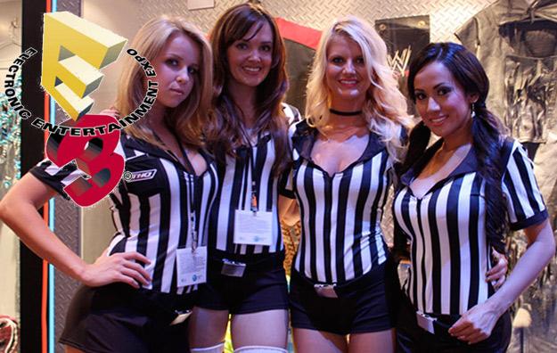 e3 2010 booth babes sexy hot girls