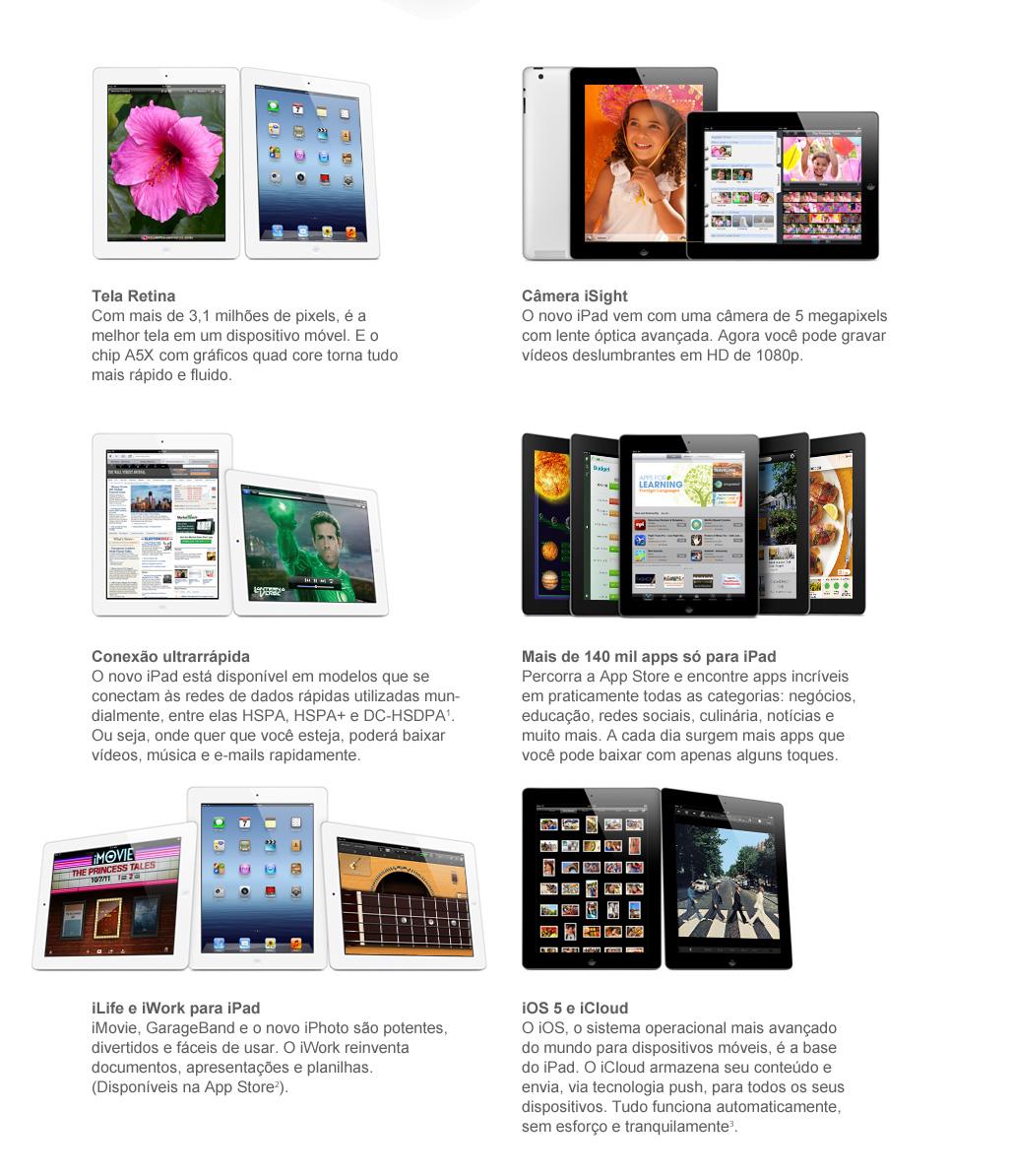 Novo iPad 3 chegou! Compre agora!