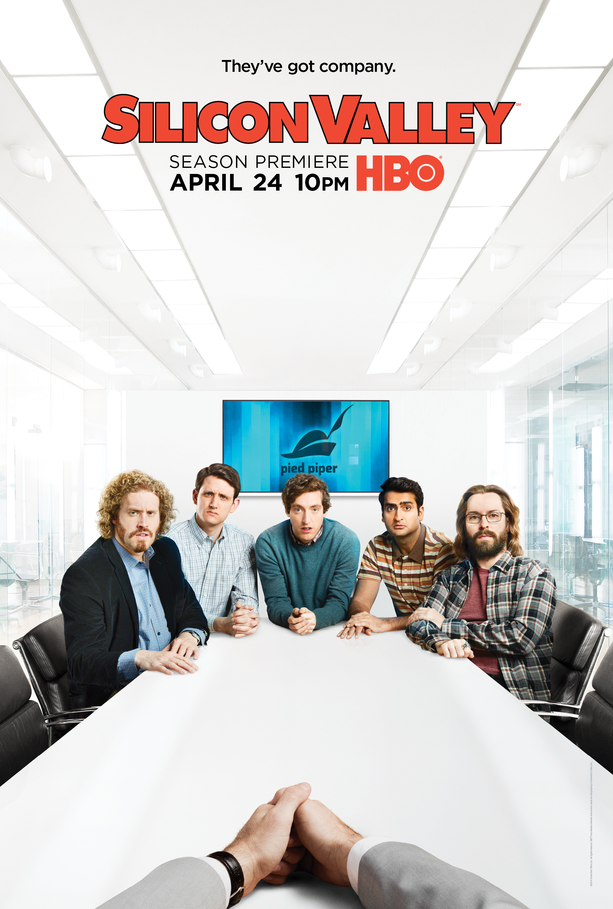 Silicon Valley terceira temporada Episódio 09 Poster